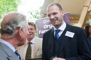 Wim with Prince Charles