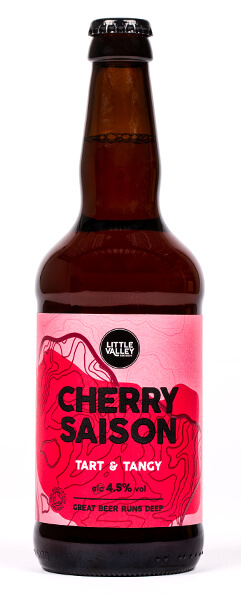 Cherry Saison Bottle Image